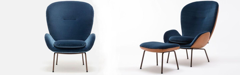rolf-benz-594-fauteuil-metalenpoot